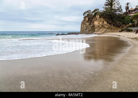 A Day in Laguna Beach, California - Stock Photo