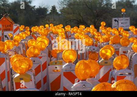 Orange Lamps - Stock Photo