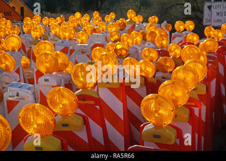 Orange Lights - Stock Photo