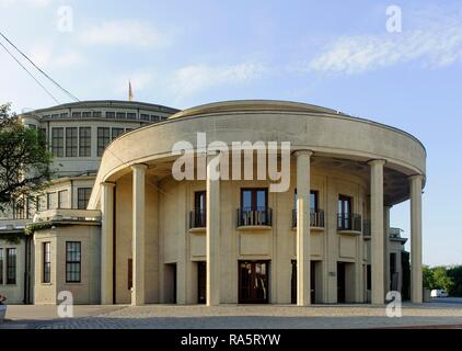 Centennial Hall, Hala Stulecia, built in 1913 by Max Berg, UNESCO World Heritage Site, Wroclaw, Lower Silesia Province, Poland - Stock Photo