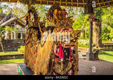 A statue of grains, a symbol of fertility Bali Indonesia - Stock Photo