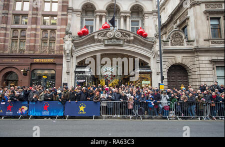 2019 London New Years Day Parade on 1st January, from Piccadilly to Whitehall in central London, UK. Credit: Malcolm Park/Alamy. - Stock Photo