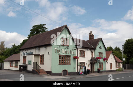 The Thorn Inn (public house), Grappenhall Lane, Appleton, Warrington, England, UK. - Stock Photo