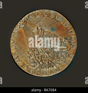 Bertoldo di Giovanni (Italian, c. 1430-1440 - 1491), Frederick III, 1415-1493, Holy Roman Emperor 1452 [obverse reimagined - Stock Photo