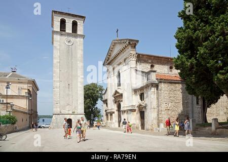 Pula Cathedral, Pula, Istria, Croatia - Stock Photo