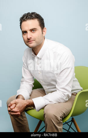 Peter Rahal, CEO, president, and co-founder of RXBAR - Stock Photo