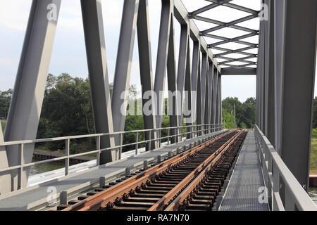 Railway bridge - Stock Photo