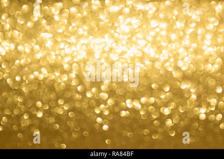 golden blurred background - Stock Photo