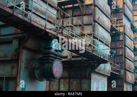 An old factory - Stock Photo