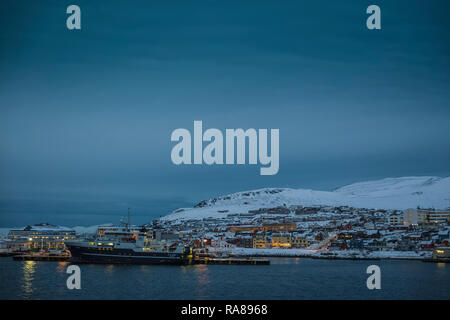 Hammerfest, Norway. - Stock Photo