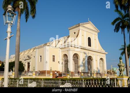 Trinidad Church of the Holy Trinity, Trinidad, Cuba - Stock Photo