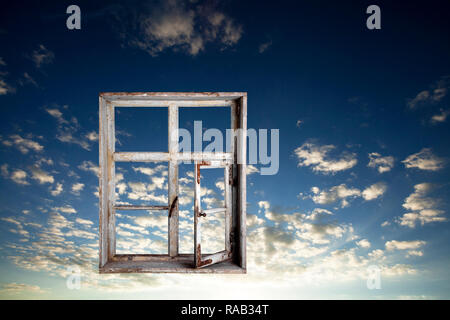 Window to the Sky - Stock Photo