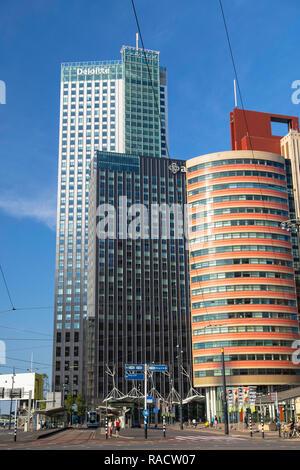 Maastoren building, Rotterdam, Zuid Holland, Netherlands, Europe - Stock Photo