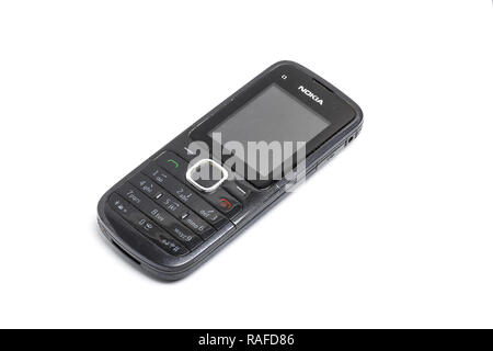Nokia C1 mobile phone, or cell phone, from 2010 - Stock Photo