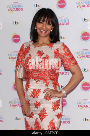 Various celebrities at the De Vere Grand Connaught Rooms in Covent Garden during Lorraine Kelly's High Street Fashion Awards  Featuring: Ranvir Singh Where: London, United Kingdom When: 19 May 2015 Credit: Steve Finn/WENN - Stock Photo