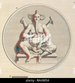 Pulleyar, Ceremonies et coutumes religieuses de tous les peuples du monde, unknown, Engraving, 1723-1743. Reimagined - Stock Photo