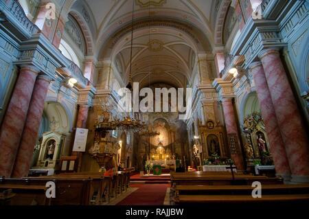 Orthodox cathedral, Sibiu, Transylvania, Romania, Europe - Stock Photo