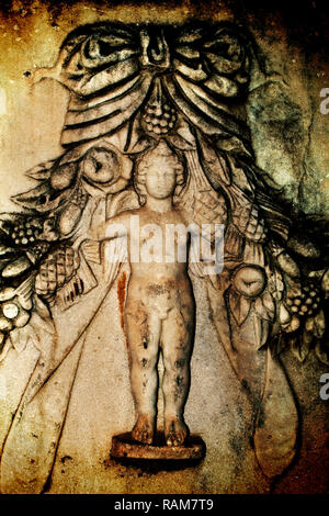 Historical Antique Greek Marble Art Photos High Detailed - Stock Photo