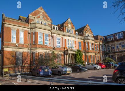 The old Royal Victoria Hospital, Folkestone, Kent, UK. - Stock Photo