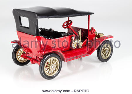 Matchbox Models of Yesteryear Y-1 Ford Model T 1911 - Stock Photo