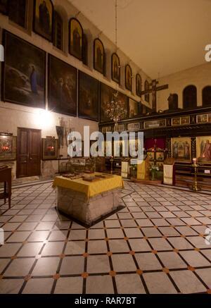 Alexander Nevsky Orthodox Church, Jerusalem - Stock Photo