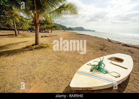 On the beach of Playa Tarcoles Costa Rica - Stock Photo