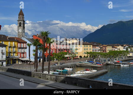 Lake Maggiore, Italy - Stock Photo