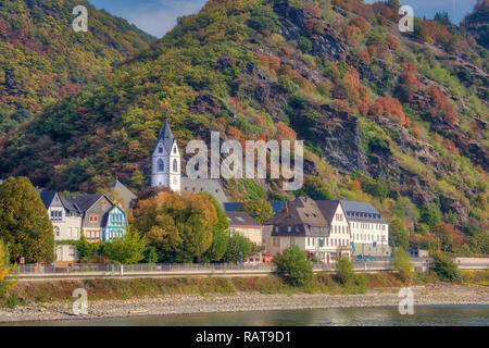 Cruising Rhine River Valley