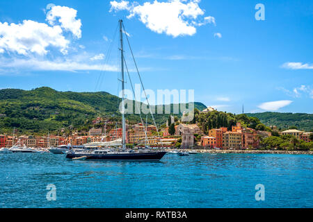 Santa Margherita Ligure, Rivera di Levante, Italy - Stock Photo