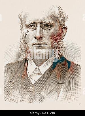 and in 1881 the THE REV. HENRY WACE, D.D.,. Reimagined by Gibon. Classic art with a modern twist reimagined - Stock Photo
