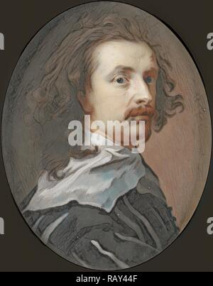 Anthony van Dyck, 1599-1641, painter, Christian Richter, I, 1711. Reimagined by Gibon. Classic art with a modern reimagined - Stock Photo