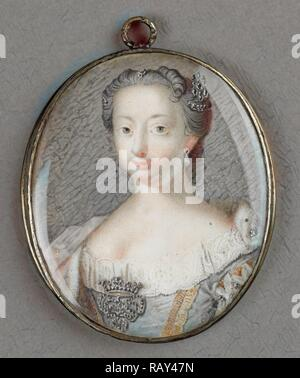 Anne, Princess Royal and Princess of Orange, Anna van Hannover, 1709-59, wife of prins Willem IV, attributed to reimagined