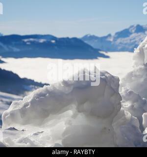 Le Grand-Bornand, Haute-Savoie, France - Stock Photo