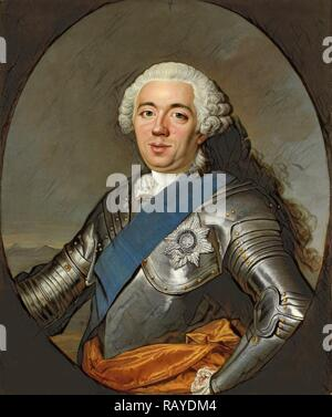 Portrait of William IV, Prince of Orange, Jacques André Joseph Camelot Aved, 1750 - 1751. Reimagined - Stock Photo