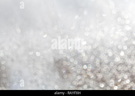Defocused small water droplets on the window - Stock Photo