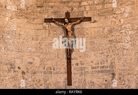 Italy Basilicat Acerenza Cathedral apse - Stock Photo