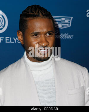 California, USA. 5th Jan 2019. Usher attends HEAVEN, presented by The Art of Elysium, on January 5, 2019 in Los Angeles, California. Photo: imageSPACE/MediaPunch Credit: MediaPunch Inc/Alamy Live News - Stock Photo