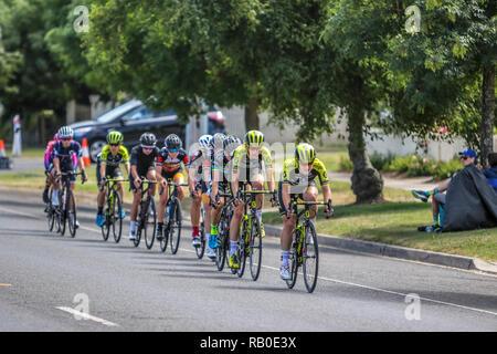 Victoria, Australia. 6th Jan 2019. 2019 Cycling Australia Road National Championships Elite Women & Under 23 Womens Road Race. Credit: brett keating/Alamy Live News - Stock Photo