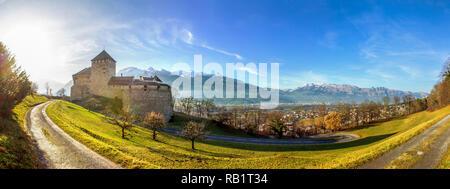 Castle, Vaduz, Liechtenstein - Stock Photo