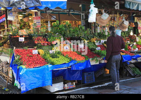 Fish and Produce Market, Kadikoy, Asian Side, Istanbul, Turkey, Anatolia, Asia Minor - Stock Photo