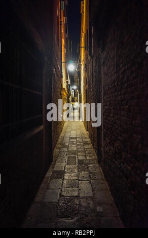 Venedig, Nacht - Stock Photo