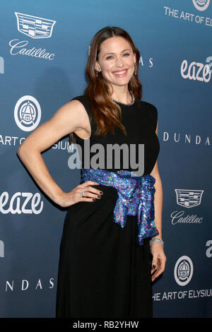 January 5, 2019 - Los Angeles,  USA - LOS ANGELES - JAN 5:  Jennifer Garner at the Art of Elysium 12th Annual HEAVEN Celebration at a Private Location on January 5, 2019 in Los Angeles, CA (Credit Image: © Kay Blake/ZUMA Wire) - Stock Photo