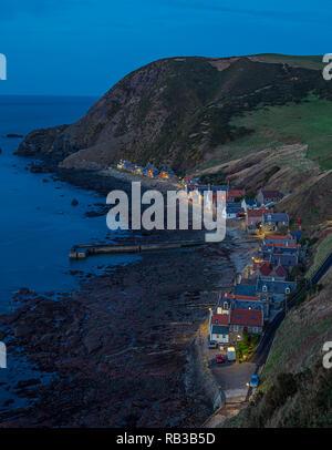 crovie scotland - Stock Photo