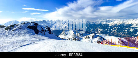 Zillertal, Zillertal Arena, Grimselpass, Austria - Stock Photo