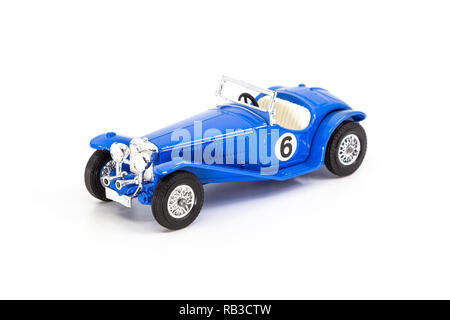Matchbox Models of Yesteryear Y-3 Riley MPH 1934 - Stock Photo