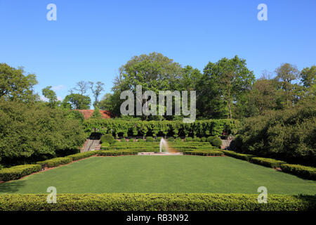 Conservatory Garden, Central Park, Manhattan, New York City, United States of America - Stock Photo