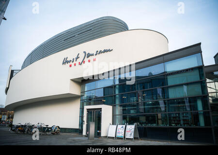 Oldenburg, Germany. 18th Dec, 2018. A view of the Horst-Janssen-Museum Oldenburg. (about dpa 'Museums want to rediscover old artists' from 07.01.2019) Credit: Mohssen Assanimoghaddam/dpa/Alamy Live News - Stock Photo