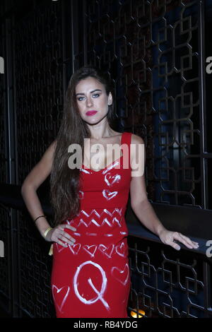 Kings & Queens By Gilda Garza Miami Art Basel 2018  Held at Bevy Bar at Swan  Featuring: Eliana Where: Miami, Florida, United States When: 06 Dec 2018 Credit: Derrick Salters/WENN.com - Stock Photo
