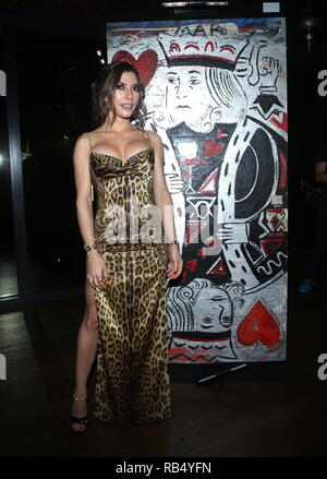 Kings & Queens By Gilda Garza Miami Art Basel 2018  Held at Bevy Bar at Swan  Featuring: Gilda Garza Where: Miami, Florida, United States When: 06 Dec 2018 Credit: Derrick Salters/WENN.com - Stock Photo