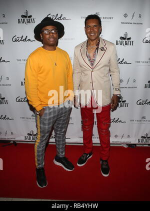 Kings & Queens By Gilda Garza Miami Art Basel 2018  Held at Bevy Bar at Swan  Featuring: Samuel Bright, Phillip West Where: Miami, Florida, United States When: 06 Dec 2018 Credit: Derrick Salters/WENN.com - Stock Photo
